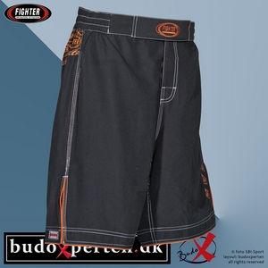 32029-000_fighter_mma-shorts_sort-orange_front_budoxperten