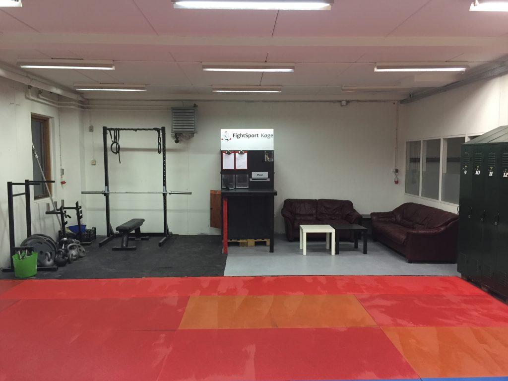 Stryrketræning og lounge